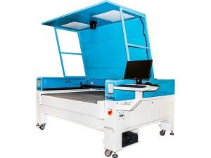 Máquina de Corte a Laser Com Sistema de Câmera Inteligente e Alimentação Por Esteira