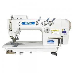 Máquina de Costura Reta Ponto Corrente 3 Agulhas com Catraca e Motor Direct Drive para Tecidos Leves e Médios ALPHA LH-3830DD-PL