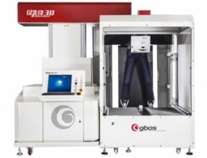 Maquina de Corte e Gravação Com Sistema de Lavagem a Laser Inteligente 2D / 3D 1200x1200mm